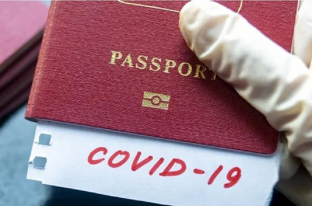 Szczepionkowy paszport. Fot.domena publiczna