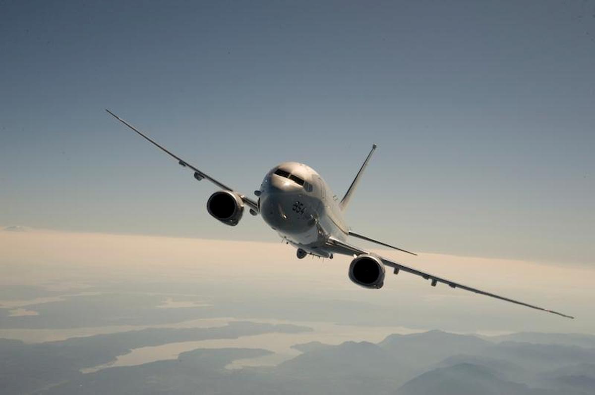 Boeing P-8 Posejdon. Fot.Internet