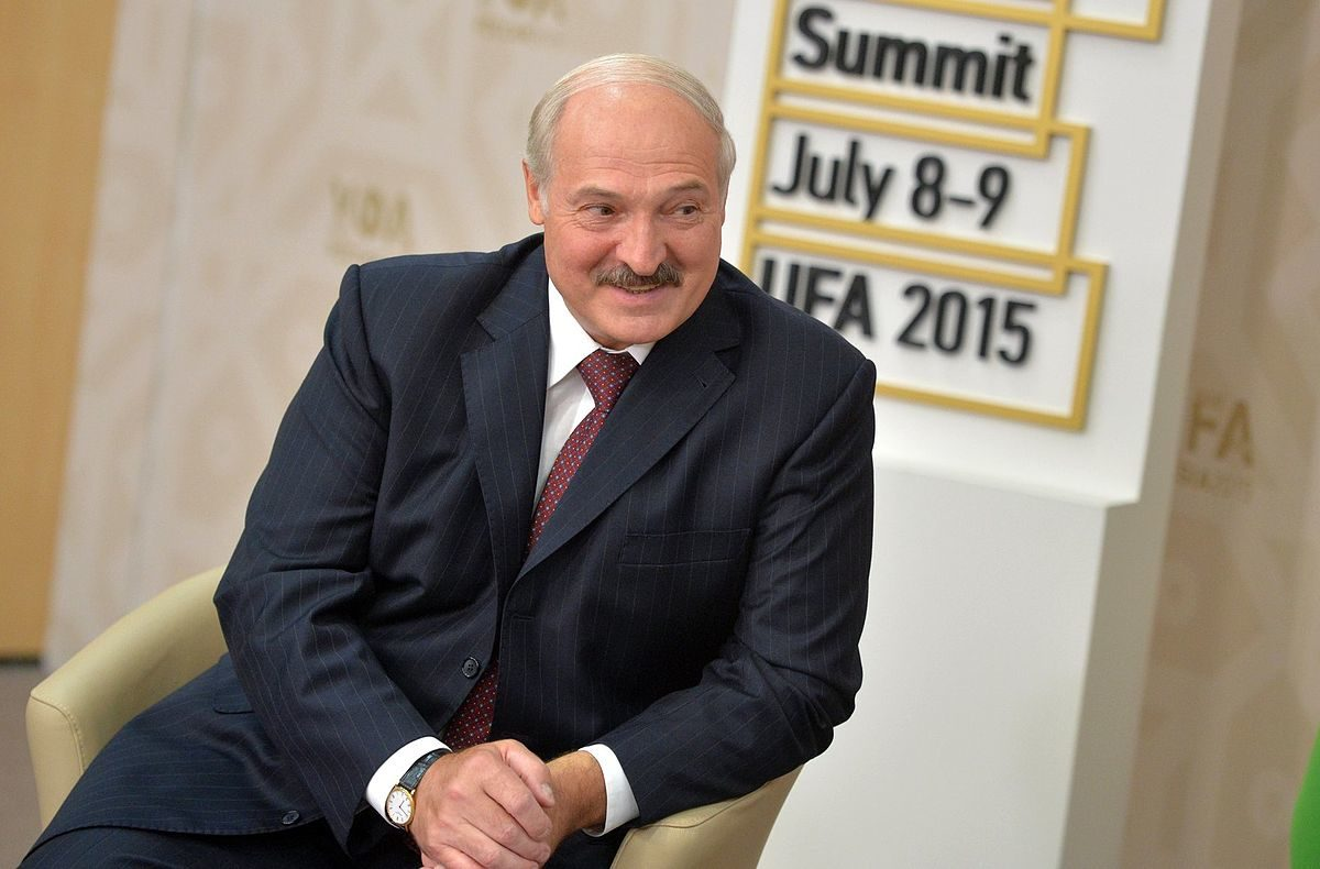 Prezydent Łukaszenko. Fot.Internet.