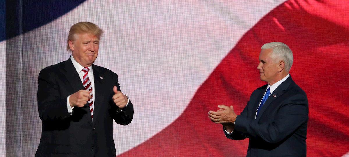 Donald Trump iMike Pence. Fot.Internet