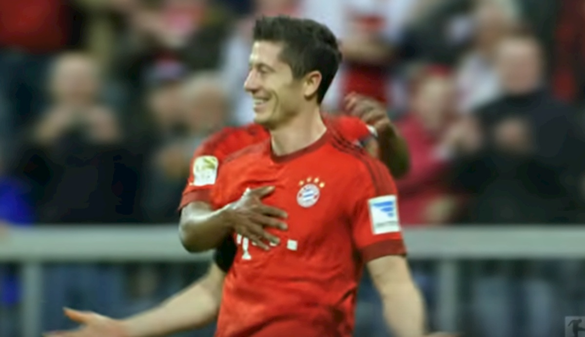 Robert Lewandowski. Fot. Internet.