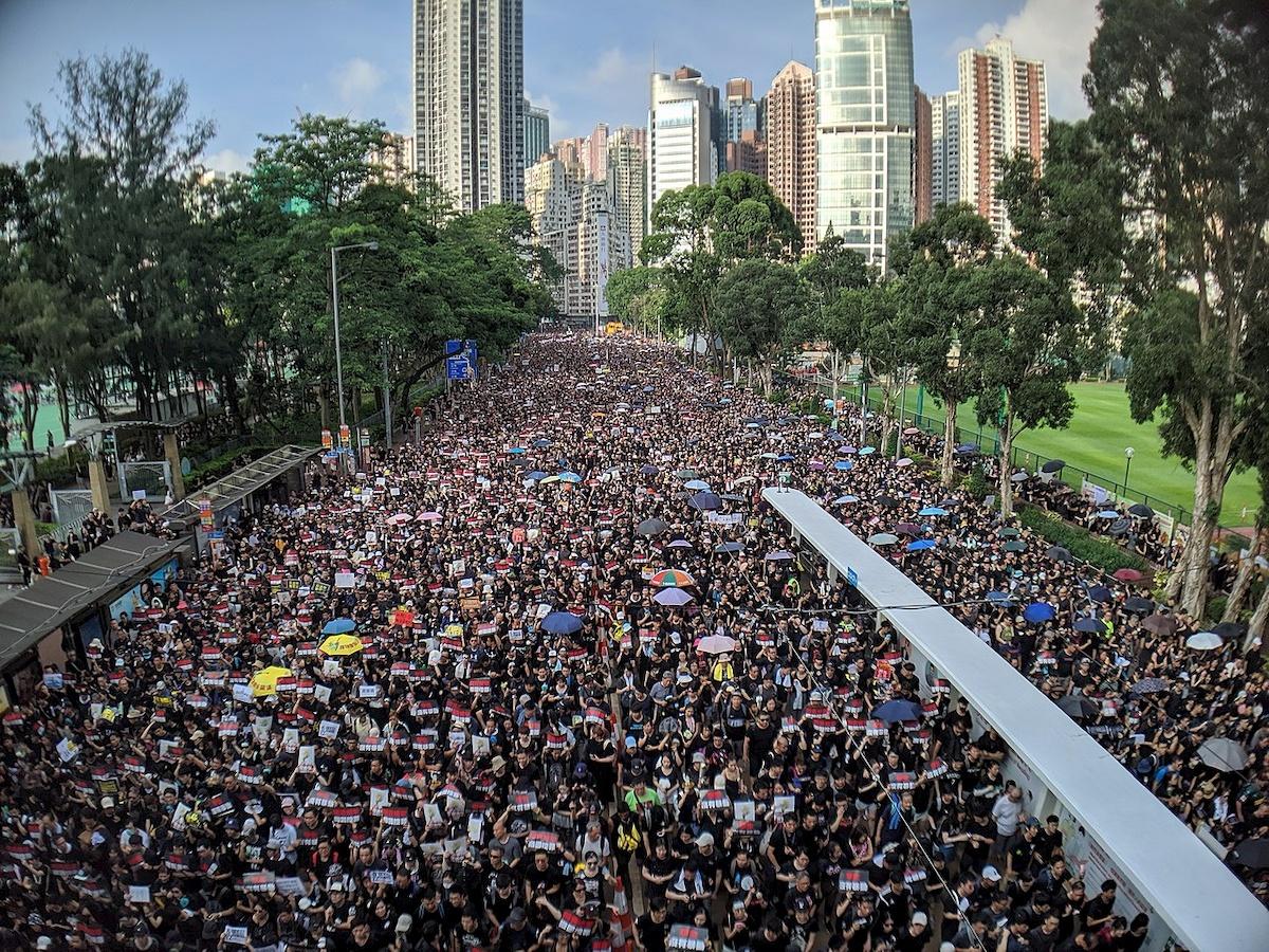 Protest wdniu 16 czerwca 2019 r. Fot.Internet