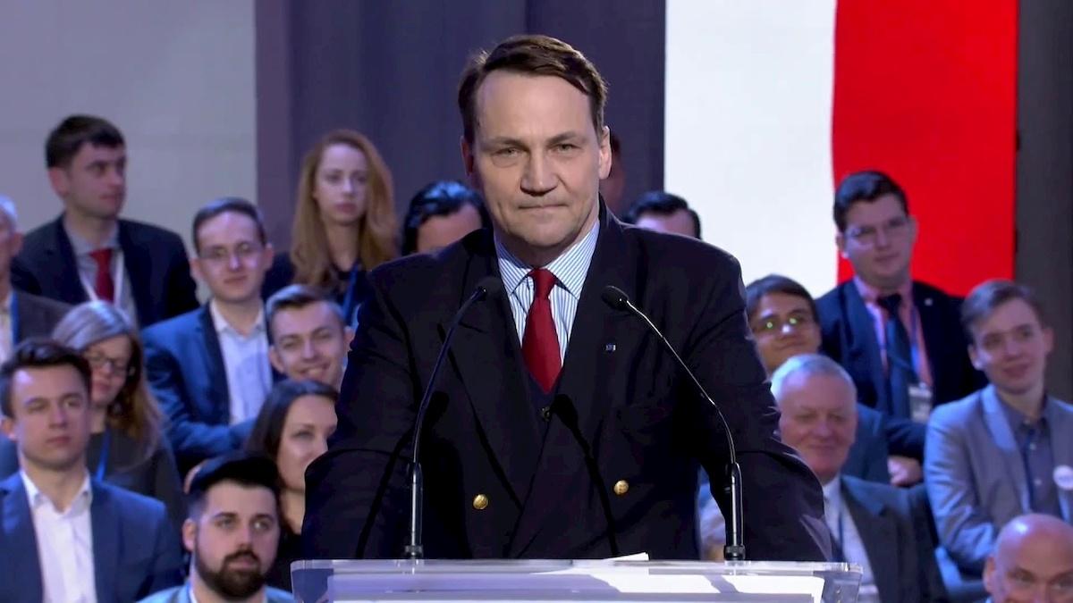 Radosław Sikorski. Fot. YouTube