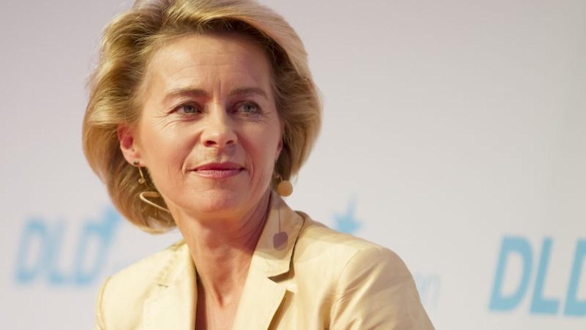 Ursula von der Leyen Fot.Internet