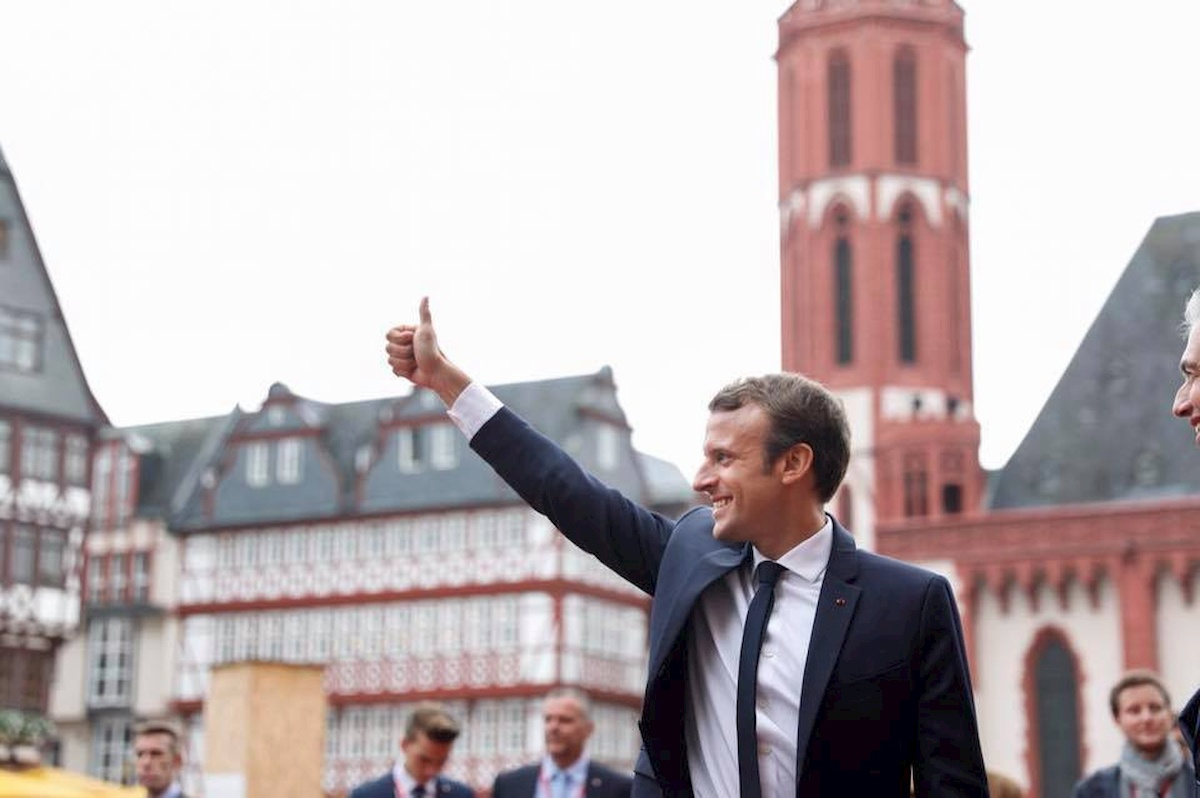 Emmanuel Macron. Fot.Facebook