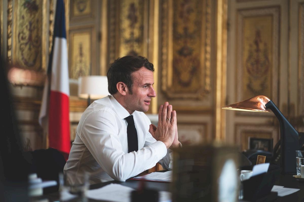 Emmanuel Macron. Fot Facebook