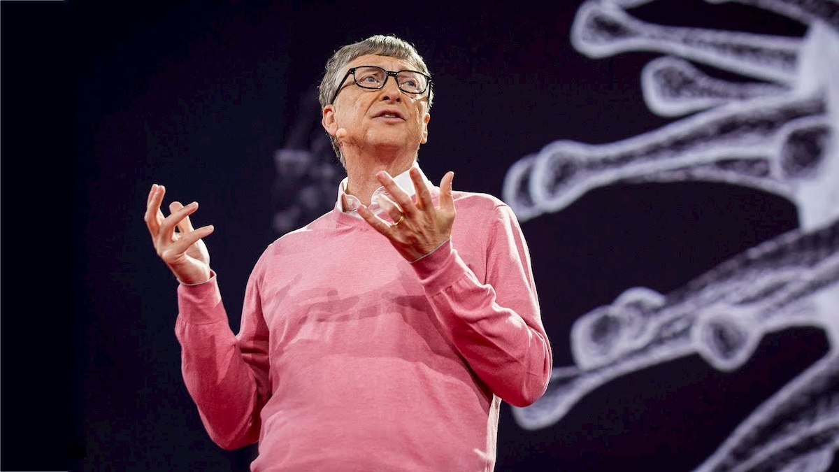 Bill Gates. Fot. YouTube