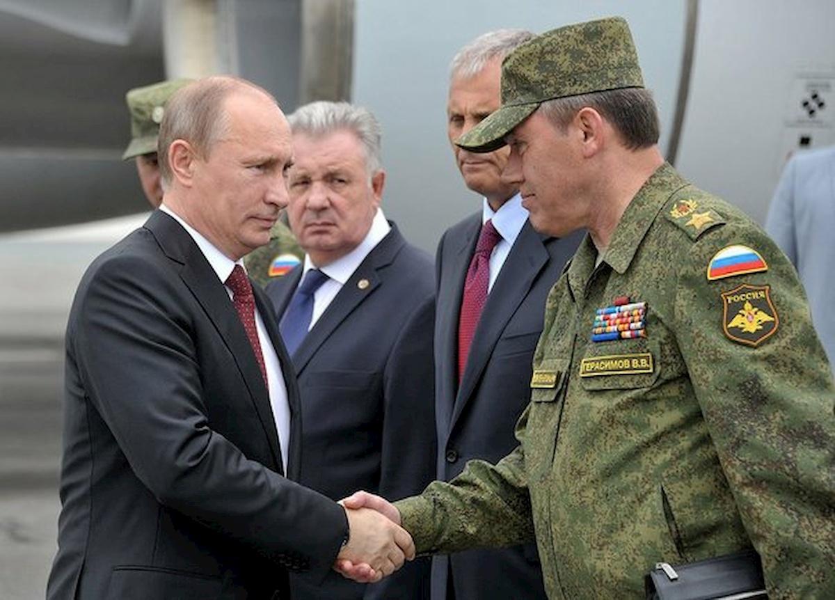 Władimir Putin igenerał Walerij Gierasimow w2013 r. Fot.Internet