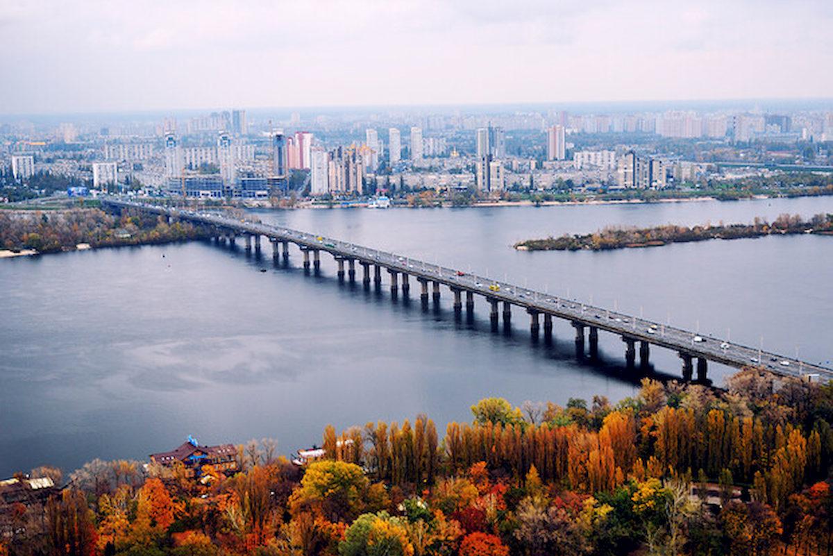 Most Patona wKijowie. Fot.domena publiczna