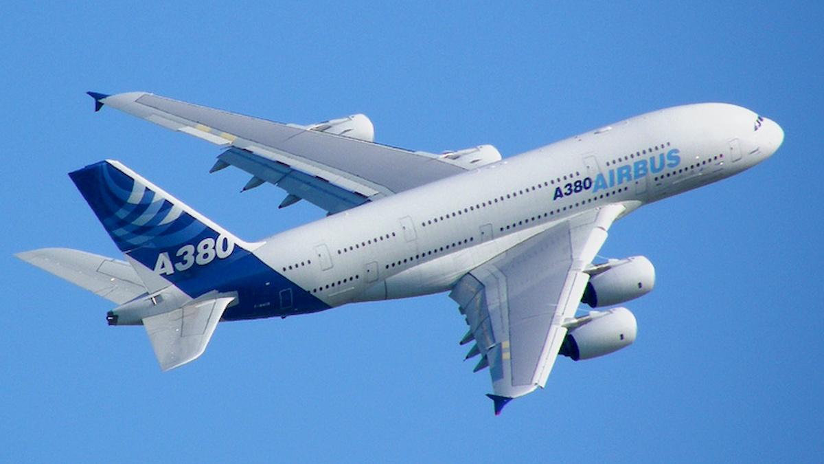 Samolot Airbusa. Fot.domena publiczna