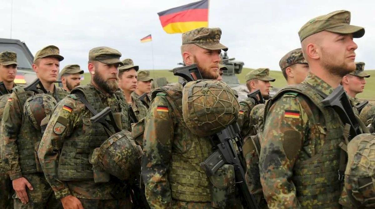 Żołnierze Bundeswehry. Fot. Wikipedia