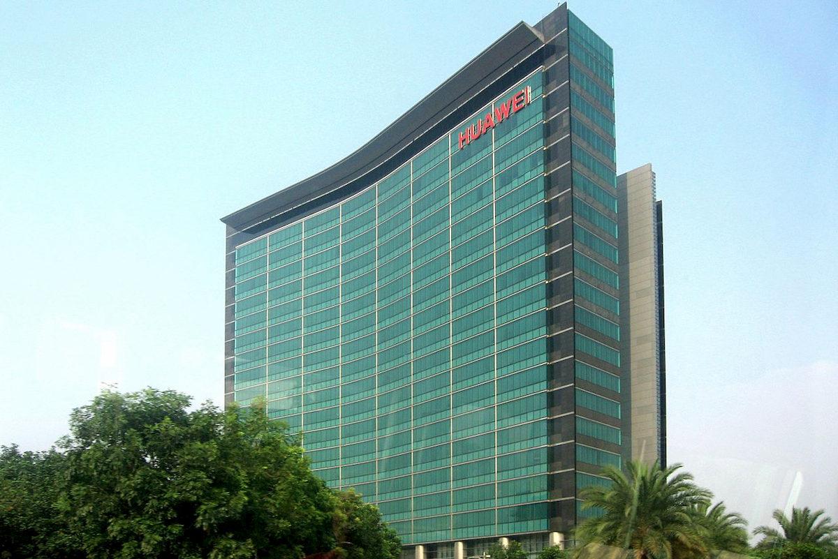 Siedziba koncernu Huawei. Fot.domena publiczna