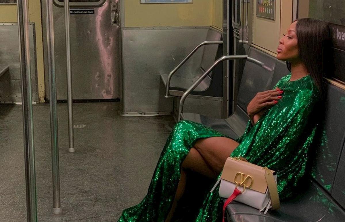 Naomi Campbell. Fot.materiały reklamowe