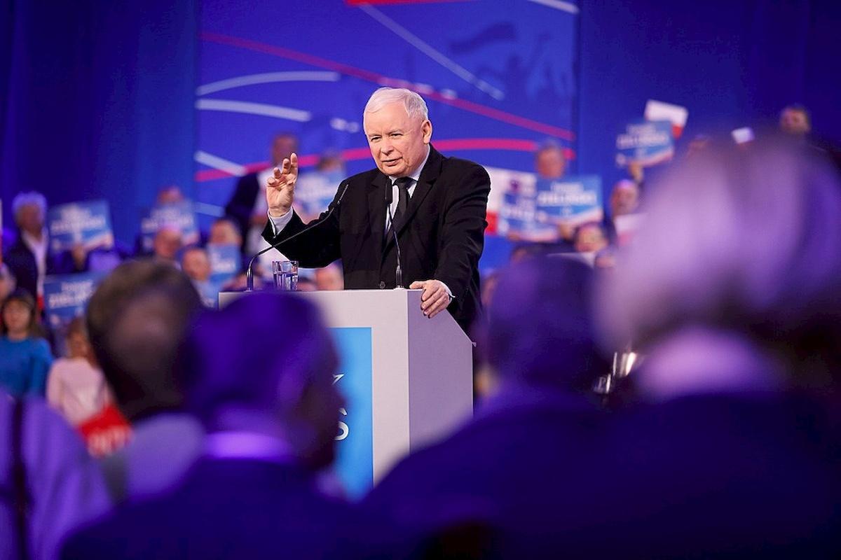Jarosław Kaczyński. Fot.Facebook
