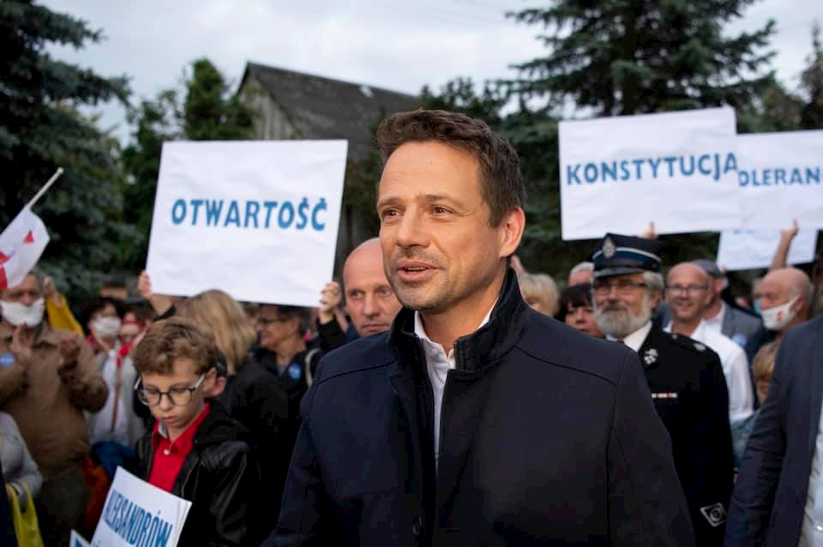 Rafał Trzaskowski. Fot. YouTube