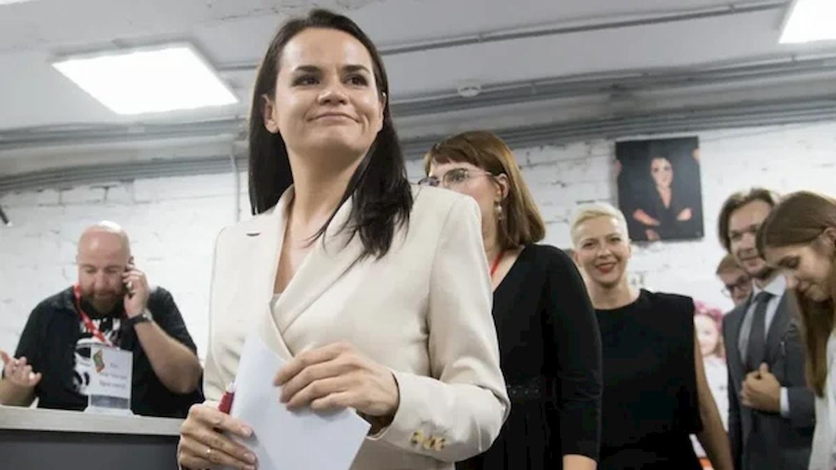 Swietłana Tichanowska. Fot.Domena publiczna