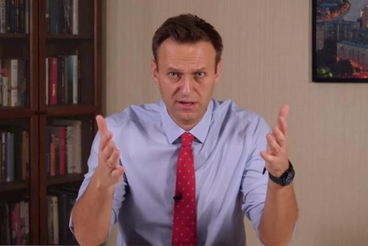 Aleksiej Nawalnyj. Fot.domena publiczna