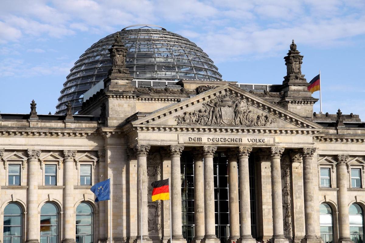 Bundestag. Fot. domena publiczna