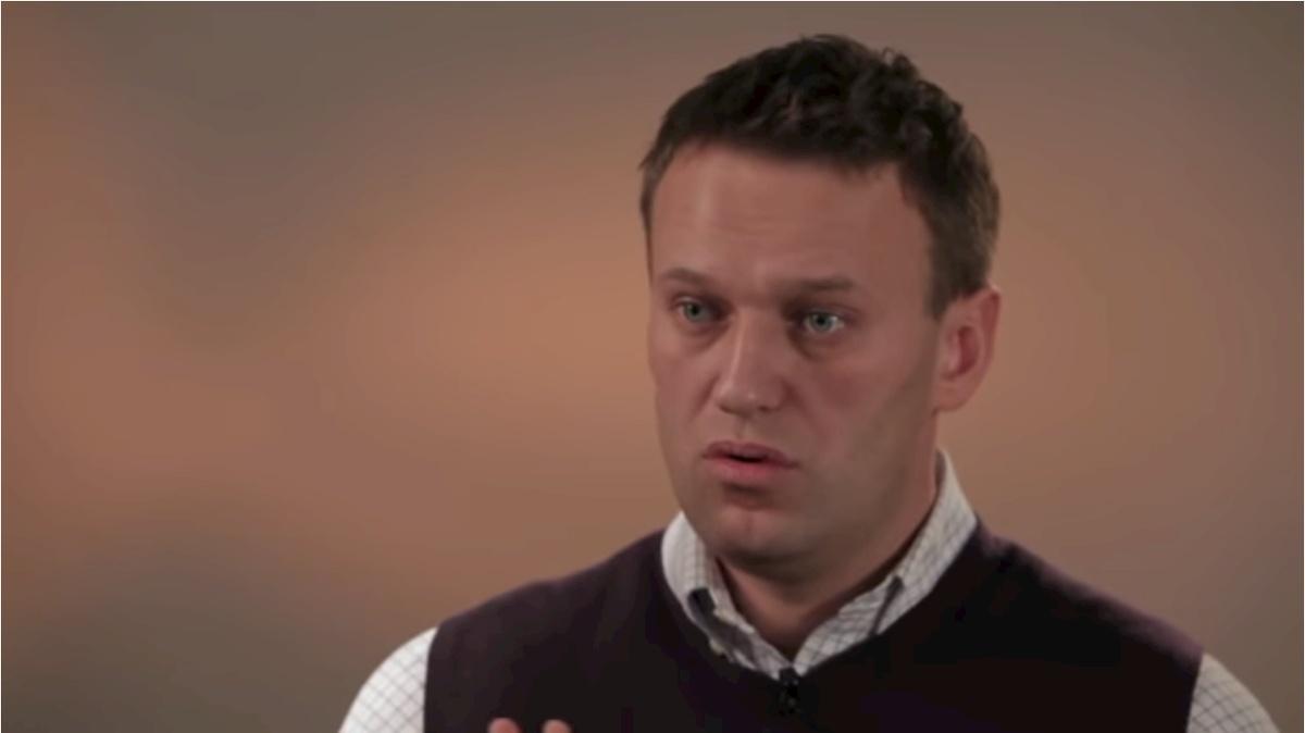 Aleksiej Nawalny. Fot.YouTube