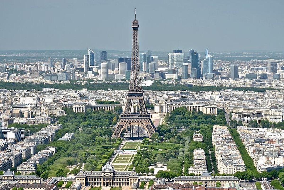Panorama Paryża. Fot.domena publiczna