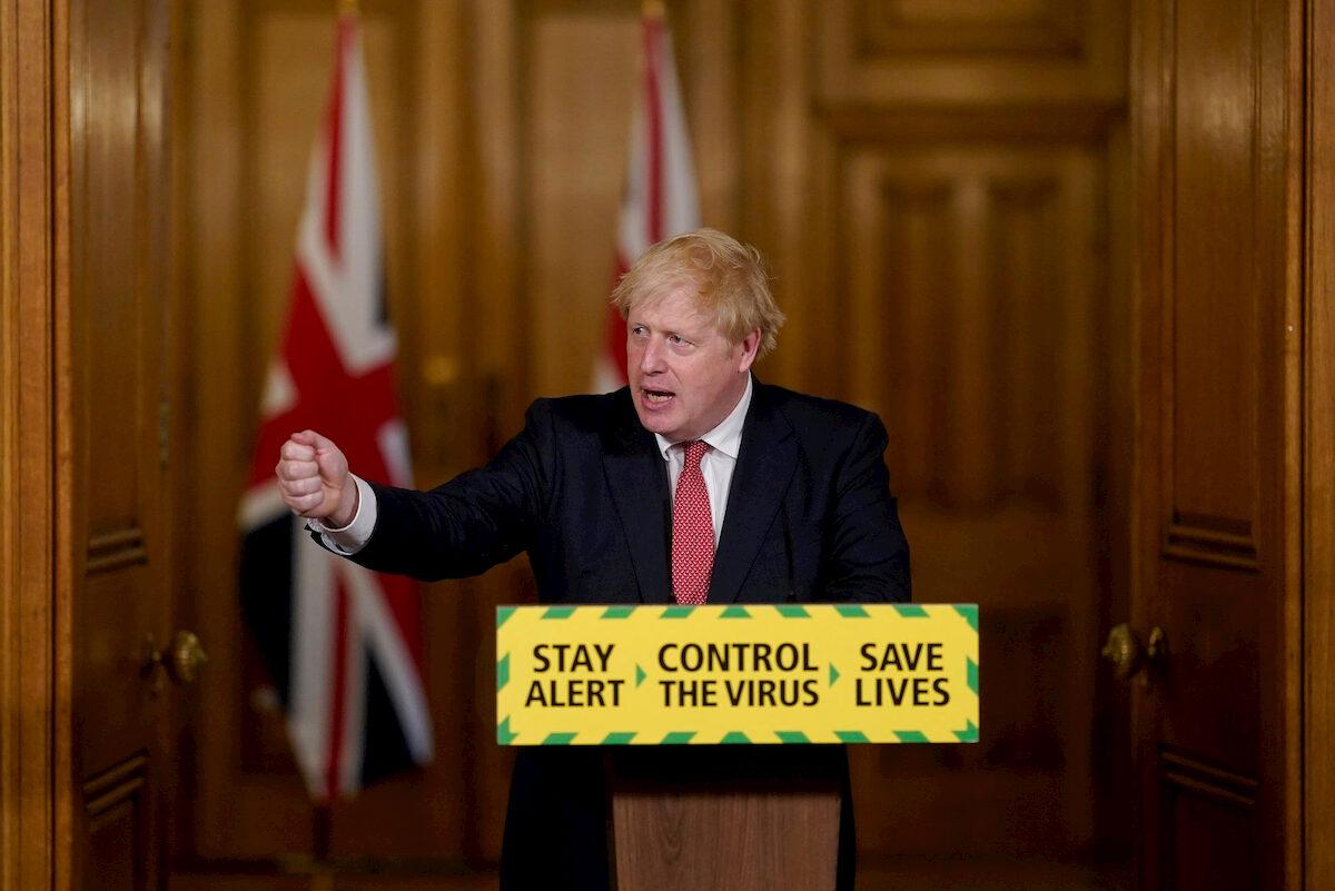 Boris Johnson. Fot.YouTube
