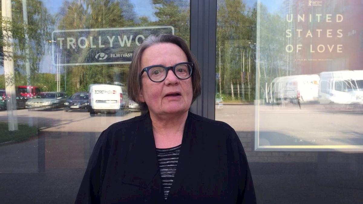 Agnieszka Holland. Fot.YouTube