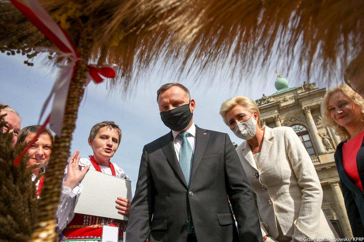 Andrzej Duda. Fot.YouTube