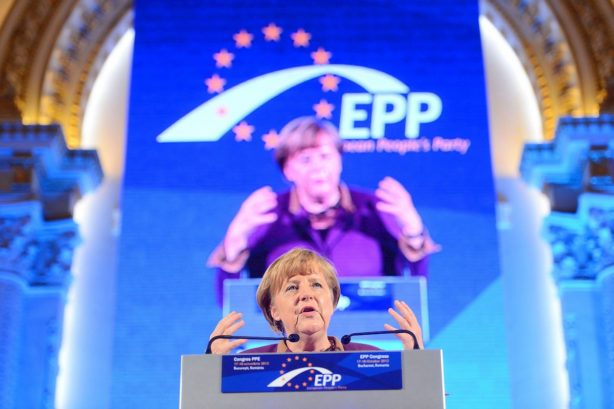 Angela Merkel. Fot.domena publiczna