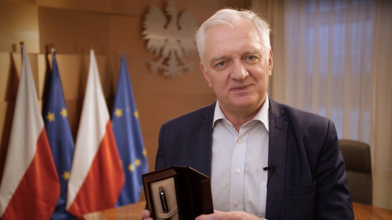 Jarosław Gowin. Fot.YouTube
