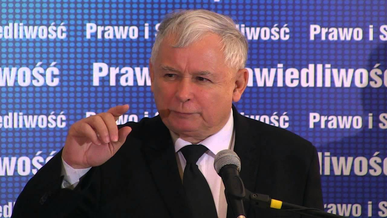 Jarosław Kaczyński. Fot. YouTube
