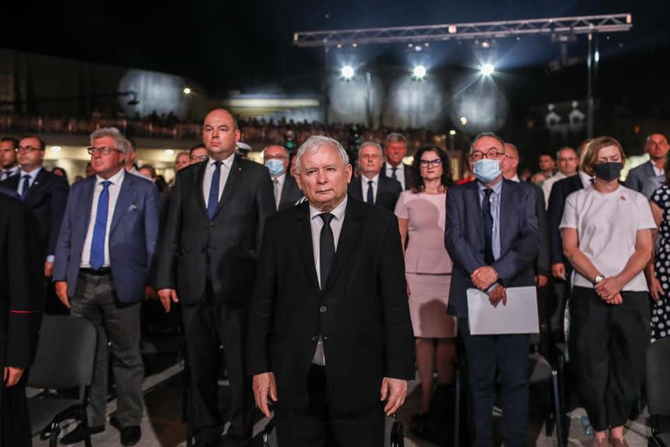 Jarosław Kaczyński. Fot. Facebook