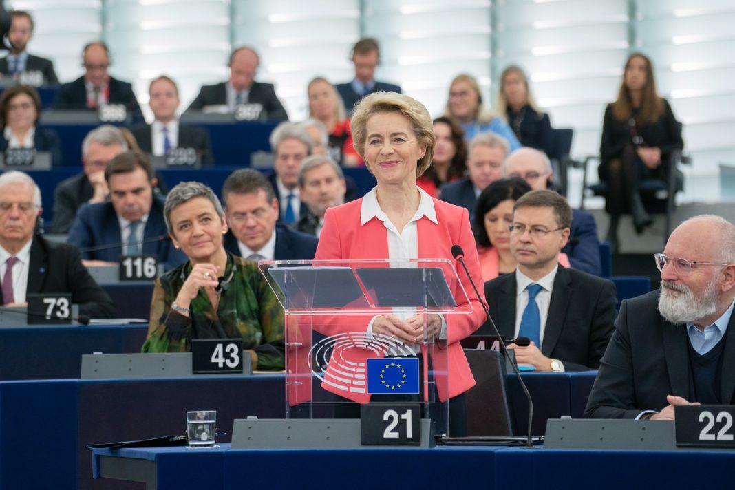 Ursula von der Leyen. Fot. Parlament Europejski