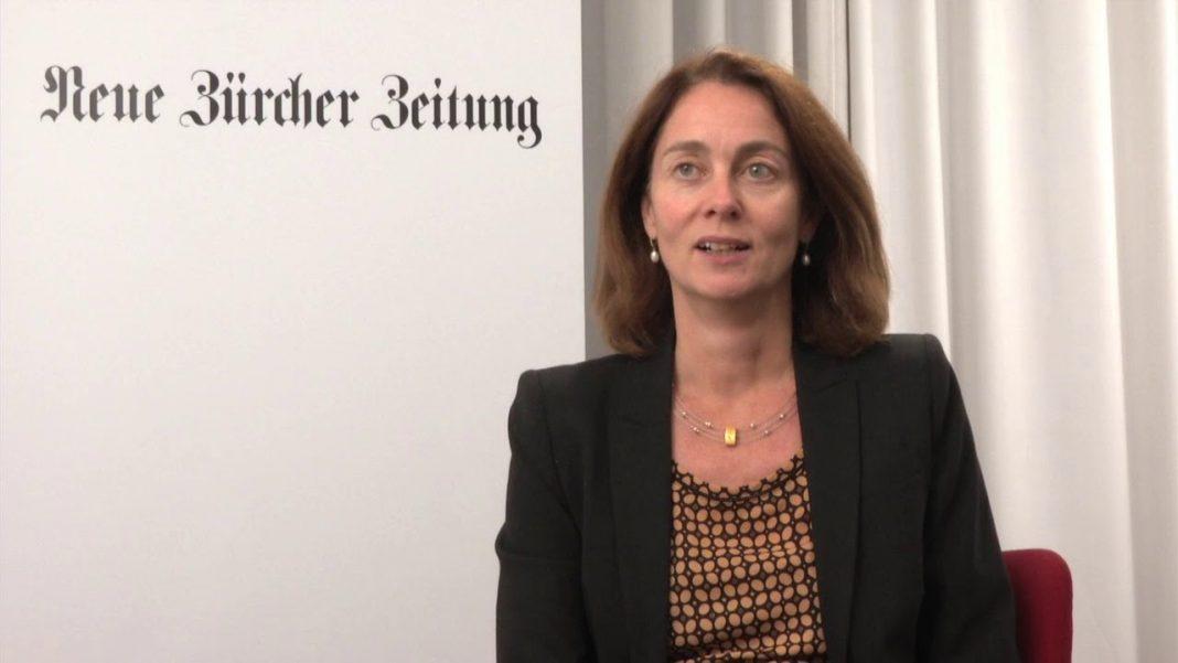 Katarina Barley. Fot.YouTube