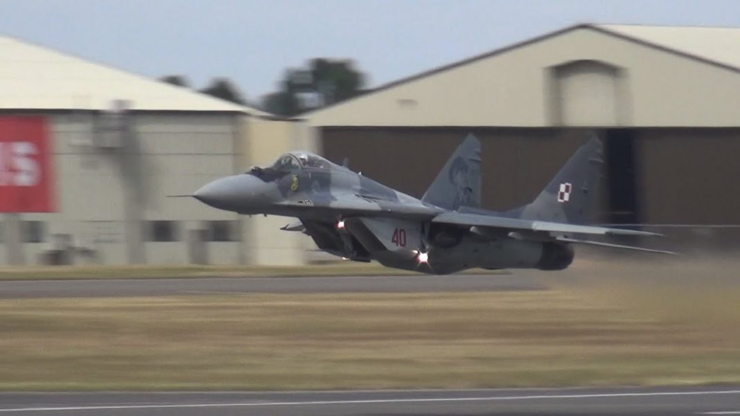 MiG 29. Fot.YouTube