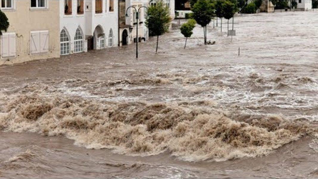 Powódź wNiemczech. Fot.YouTube